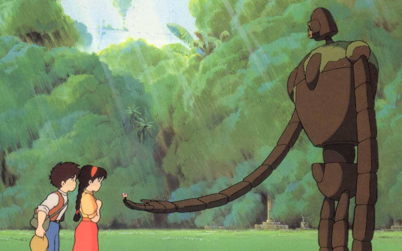 """Laputa - Castello nel cielo"" di Hayao Miyazaki"